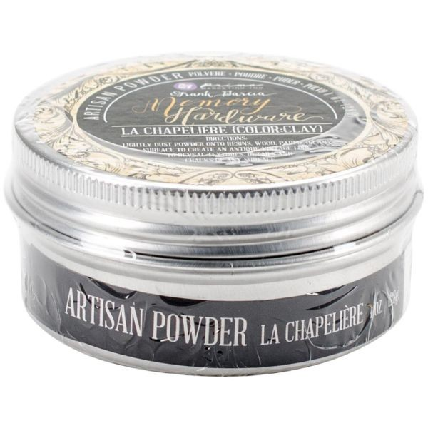 Prima Marketing Frank Garcia Memory Hardware Artisian Powder Chapeliere:Clay
