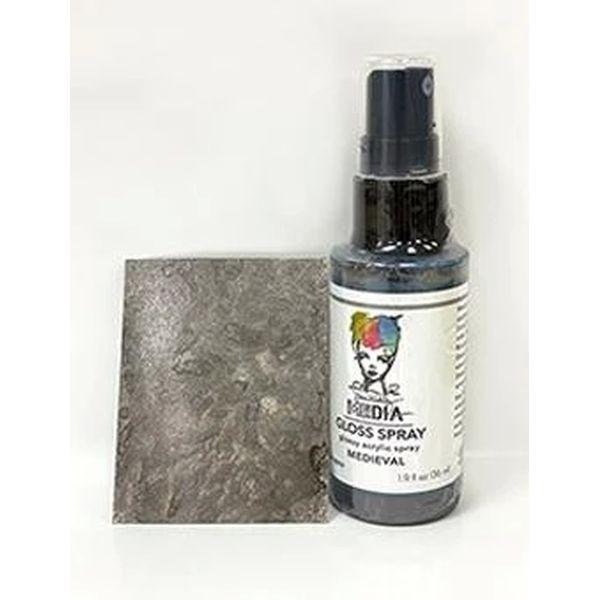 Dina Wakley Media Gloss Spray Medieval