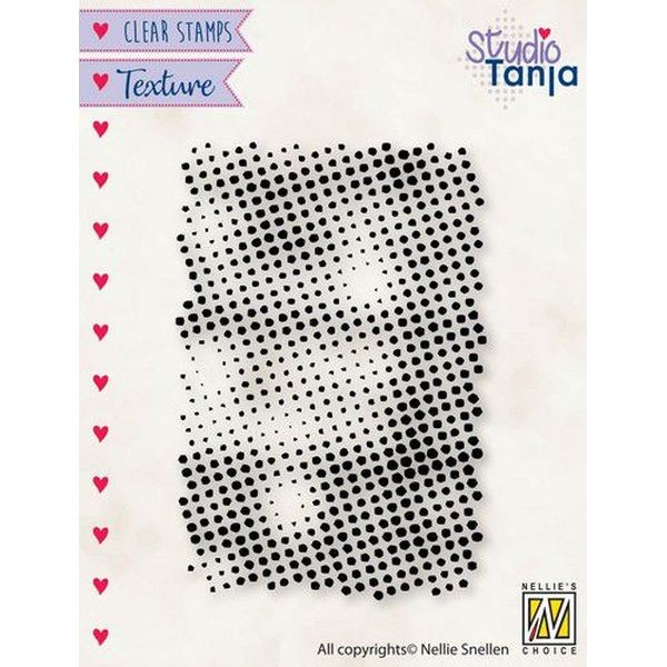 Nellie´s Choice Texture Clearstamp Dots
