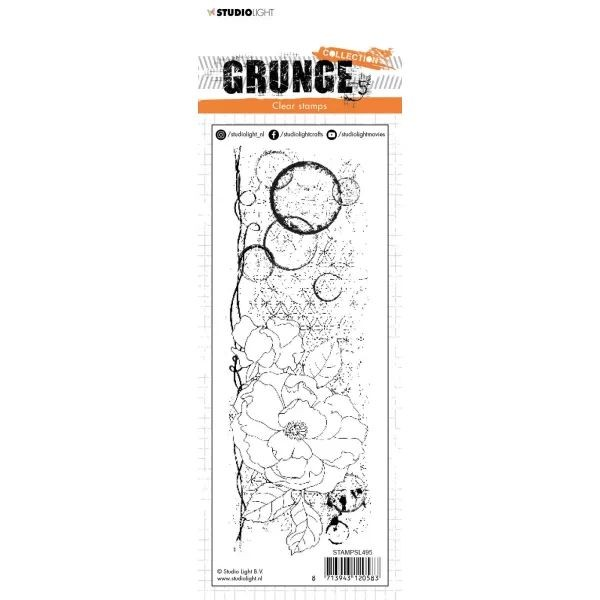 Studio Light Grunge Collection Clearstamps No. 495