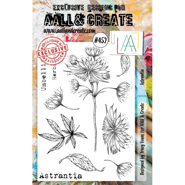AALL & Create Clearstamps A5 No. 452 Astranita