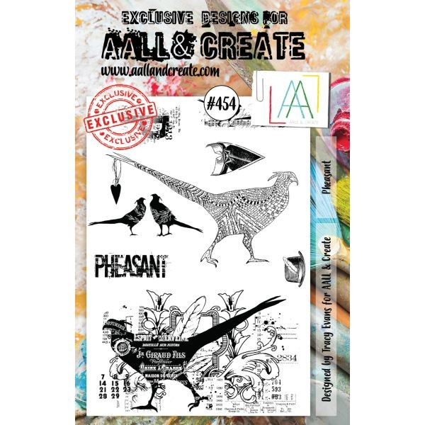 AALL & Create Clearstamps A5 No. 454 Pheasant