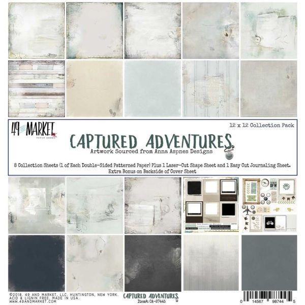 49 and Market Captured Adventures Collection Pack 12x12