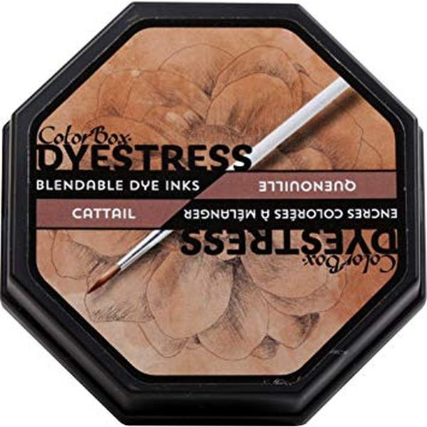 Color Box Dyestress Ink Pad Cattail