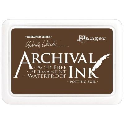 Ranger Archival Ink Pad by Wendy Vecchi Potting Soil
