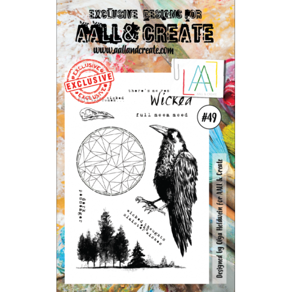 AALL & Create Clearstamps A6 No. 49