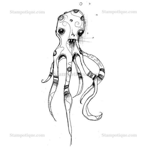 Stampotique Originals Octopet