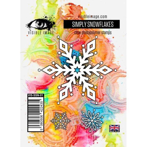Visible Image Simply Snowflakes