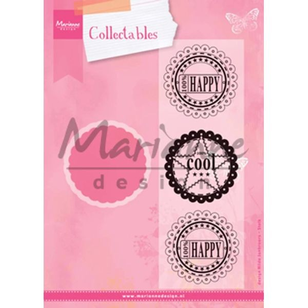 Marianne D Collectables Scallop Die & Sentiments