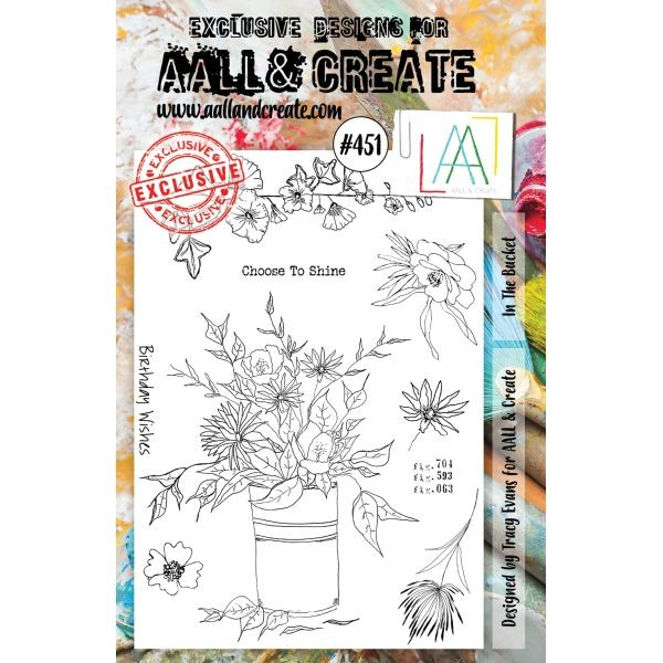 AALL & Create Clearstamps A5 No. 451 In the Bucket