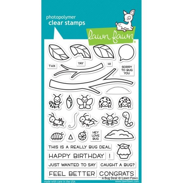 Lawn Fawn Bundle Clearstamps & Dies A Bug Deal