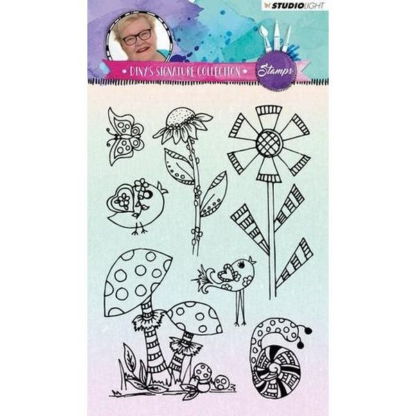 Studio Light Clearstamps A6 Signature Diny´s Collection No. 02