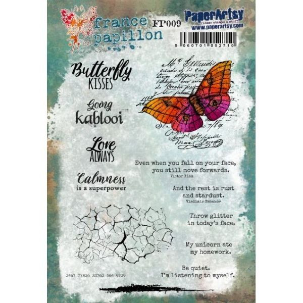 Paper Artsy France Papillon 009