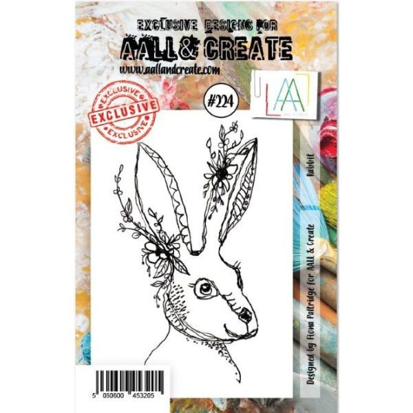 AALL & Create Clearstamps A7 No. 224 Rabbit