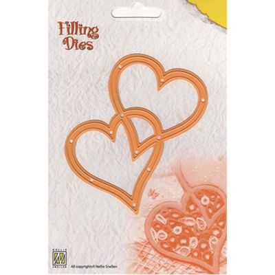 Nellie´s Choice Filling Dies Hearts