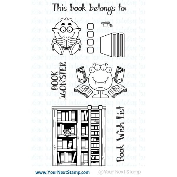 Your next Stamp Silly Book Monsters BUNDLE