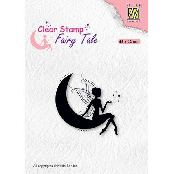 Nellie´s Choice Clearstamp Silhouette Fairy Tale - Fairy