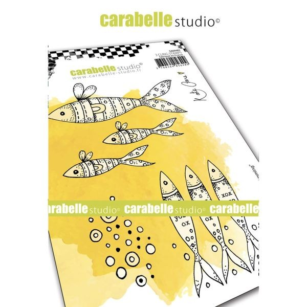 Carabelle Studio Tampon Art Stamp A6 Keep Swimming