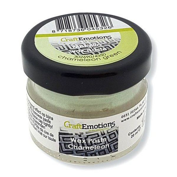 Craft Emotions Wax Paste Chameleon Green