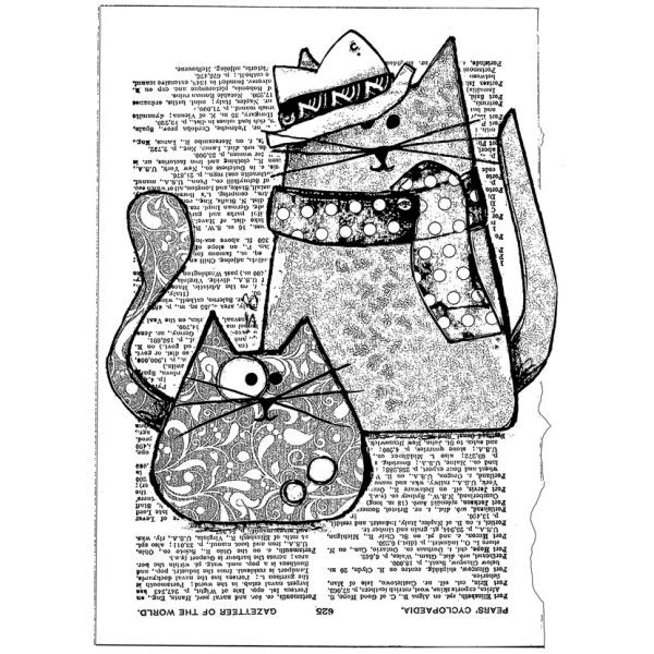 Crafty Individuals Trilby Cats