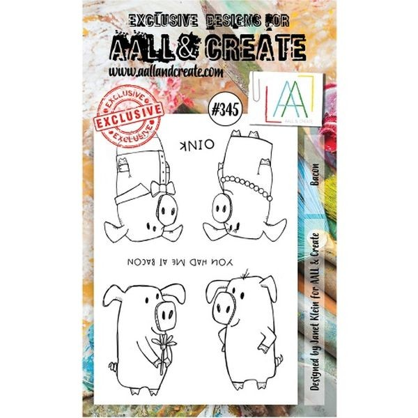 AALL & Create Clearstamps A6 No. 345 Bacon