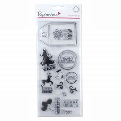 Papermania Clears Stamps Let it Snow