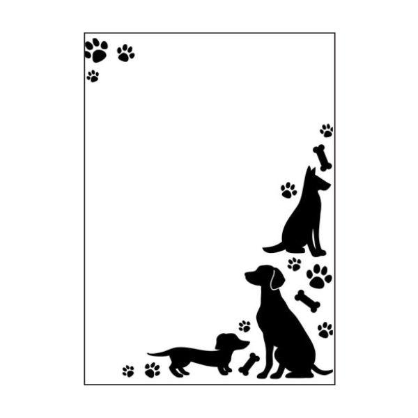 Darice Embossingfolder Dogs & Paws