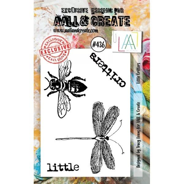 AALL & Create Clearstamps A7 No. 436 Little Critters