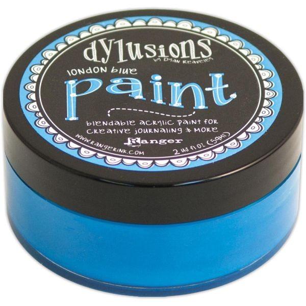 Dylusions Paint London Blue