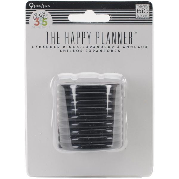 The Happy Planner Discs 1.25 Black