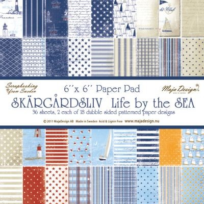 Maja Design Life by the Sea Paperpad 6x6