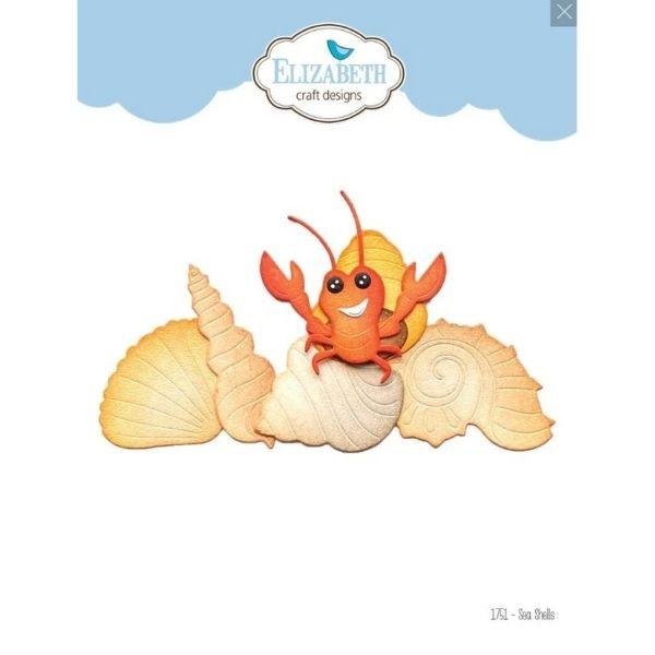 Elisabeth Craft Designs Die Sea Shells