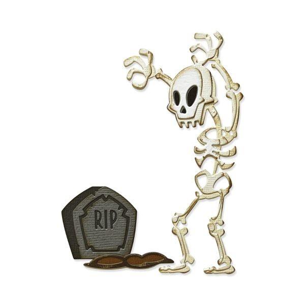 Tim Holtz Alterations Thinlits Colorize Mr. Bones
