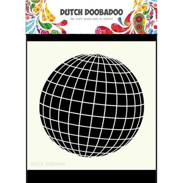 Dutch Doobadoo Mask Stencil 6x6 Earth
