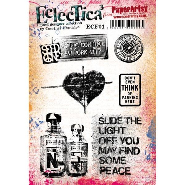 Paper Artsy Eclectica by Courtney Franich 01