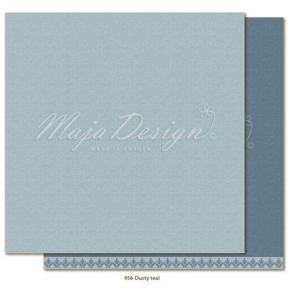 Maja Design Monochromes Shades of Winterdays Dusty Teal