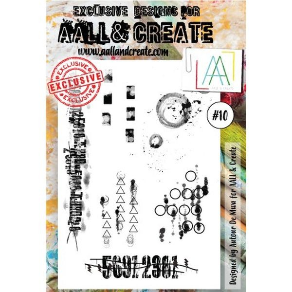 AALL & Create Clearstamps A6 No. 10