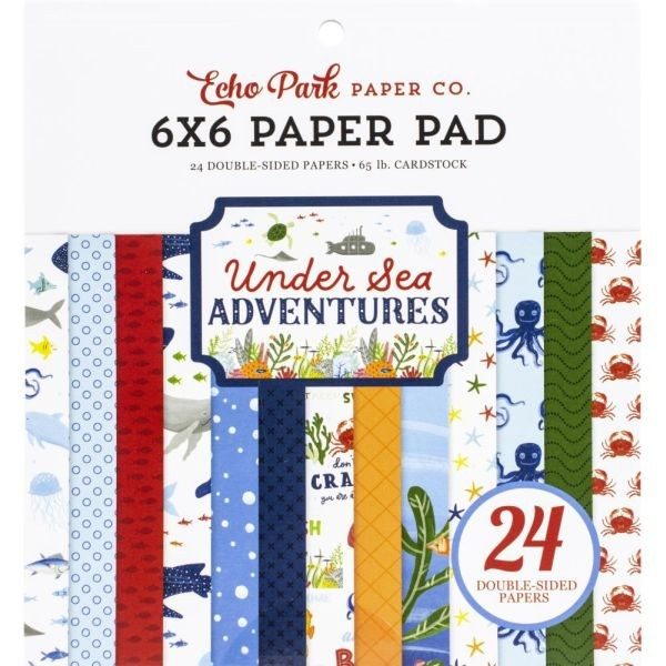Echo Park Under Sea Adventures Paper Pad