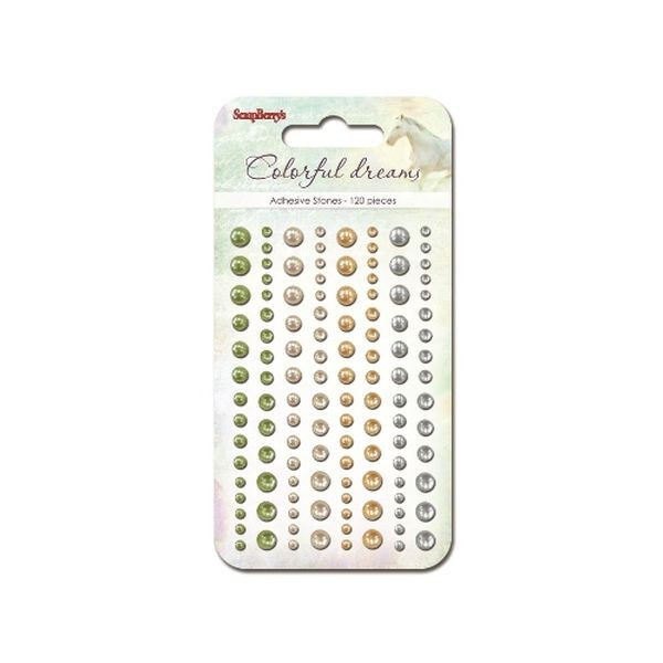 ScrapBerry´s Adhesive Pearls Colorful Dreams I