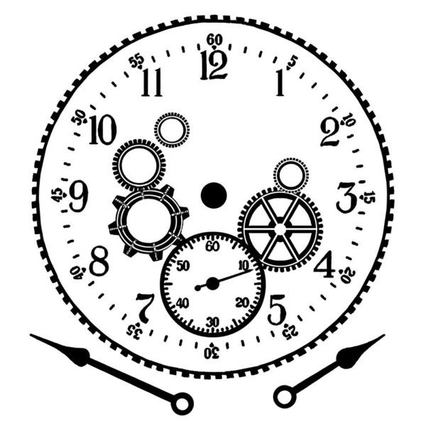 Crafty Individuals 353 Cog Workings Clock Face