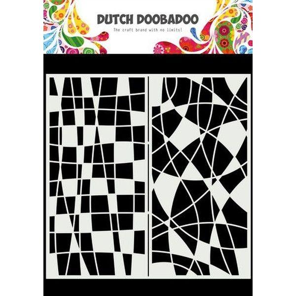 Dutch Doobadoo Mask Art Slimline Mosaic Line