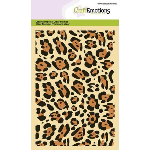 Craft Emotions Clearstamps Panther Print