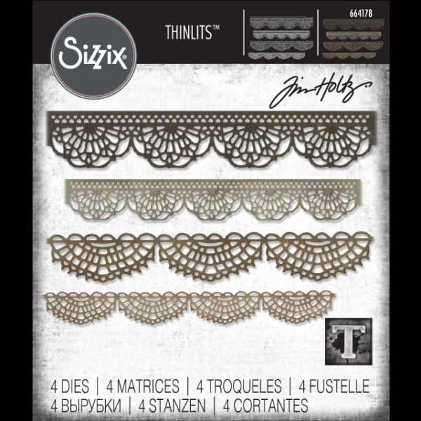 Tim Holtz Alterations Thinlits Crochet