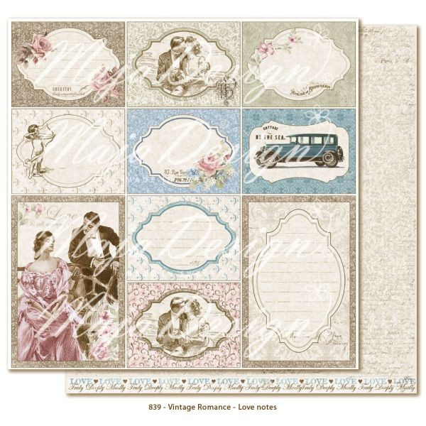Maja Design Vintage Romance Love Notes