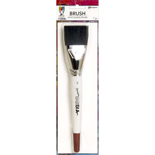 Dina Wakley Media Stiff Bristle Brush