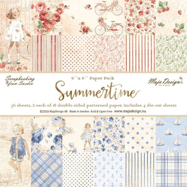 Maja Design Summertime Papepack 6x6