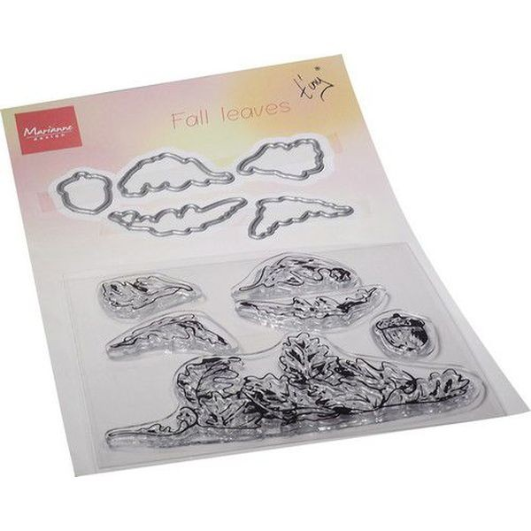 Marianne D Clearstamps & Dies Tiny´s Fall Leaves