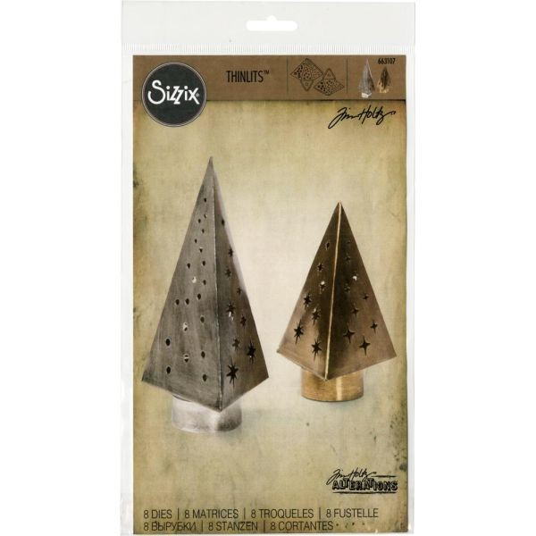 Tim Holtz Alterations Thinlits Tree Light