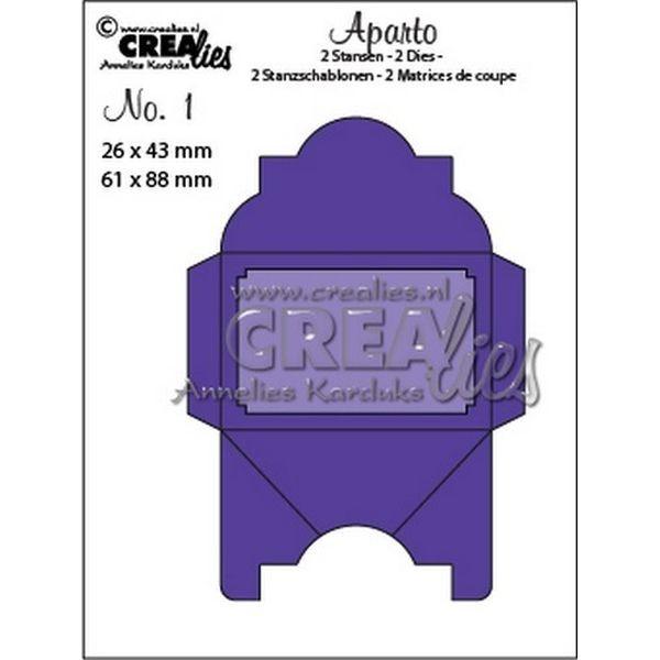CreaLies Aparto No. 01 Mini Message