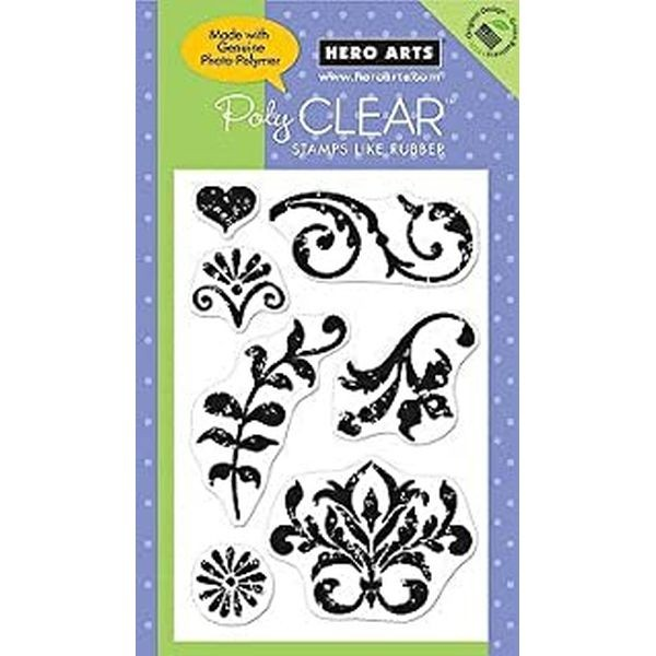 Hero Arts Clearstamps Speckled Ornaments